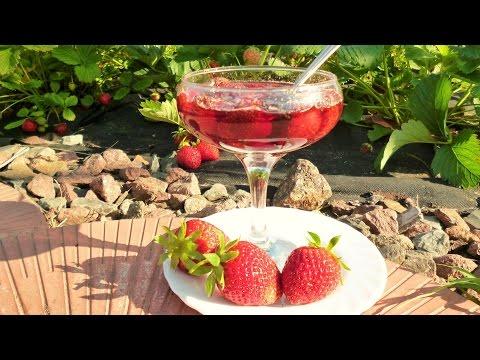 Как сварить густое клубничное варенье с твердыми ягодами