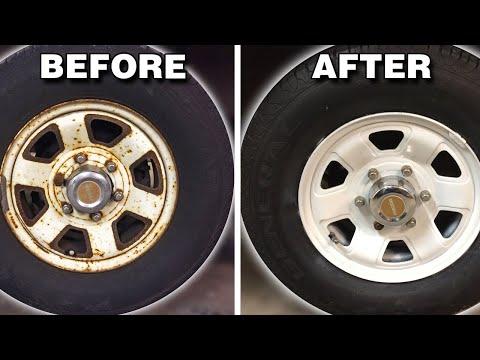 Restoring The Wheels | Mazda B2000