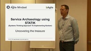 LKD15: Service Archaeology using STATIK. Tom Reynolds & Eben Halfords