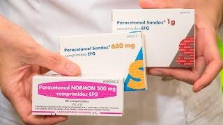 PARACETAMOL, dosis y posología correcta