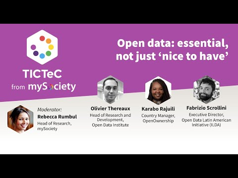 Catch up with the first TICTeC Seminar