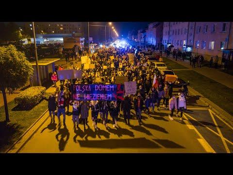 Protest Pasłęk 30.10.2020 r.