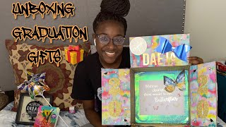 Unboxing My Graduation Gifts 🎁