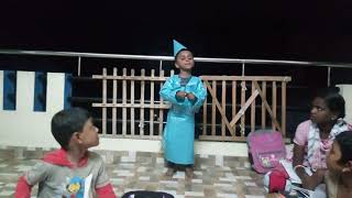 Polybag Fancy Dress Competition In Ashwin