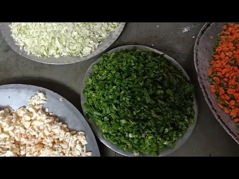 Chicken fried rice recipe catering style in Mumbai