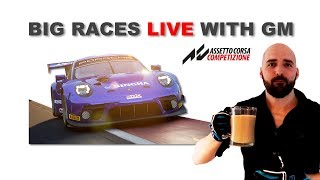 Assetto Corsa Competizione | Big Races Live - With Gamer Muscle