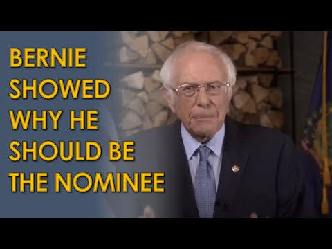 Bernie Sanders' 2020 Democratic National Convention Speech PROVES he should be the nominee
