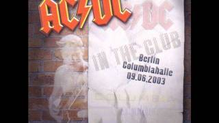 AC/DC - What's Next To The Moon (Live Berlin 2003) HQ