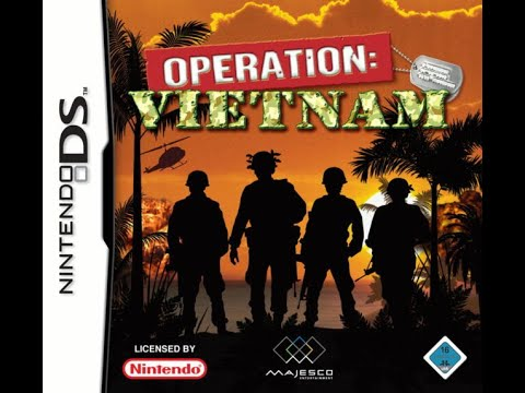 Operation Vietnam - Nintendo DS - Level 1 and 2 (Gameplay)
