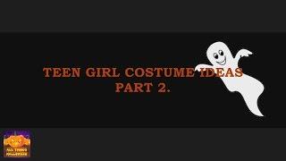Teen Girl Halloween Costume Ideas Part 2.
