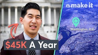 Living On $45K A Year In Washington, D.C. | Millennial Money
