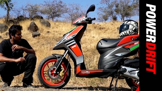 Aprilia SR 150 Race : Is it really faster? : PowerDrift