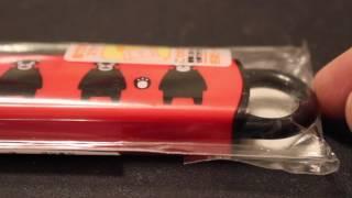 くまモンの箸 Kumamon Chopsticks.