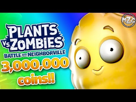 3,000,000 COINS SPENDING SPREE! - Plants vs. Zombies Battle for Neighborville Gameplay Part 100