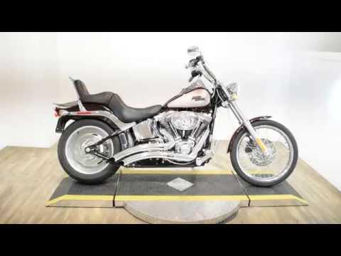 2007 Harley-Davidson FXST Softail in Wauconda, Illinois - Video 1