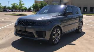 Pre-Owned 2018 Land Rover Range Rover Sport HSE Dynamic PremiumInteriorProtectionPKG SoftDoorClose