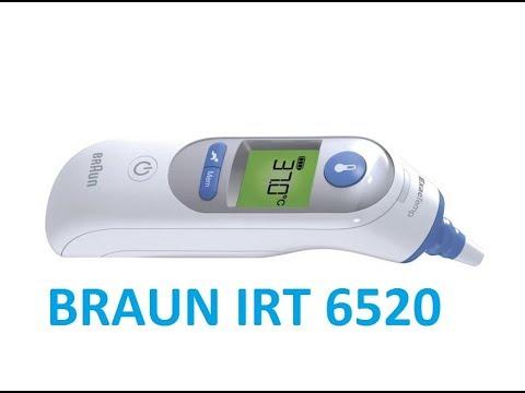 Braun IRT 6520  - unpacking and testing - Ear thermometer - IRT6520, IRT6020, IRT 6020