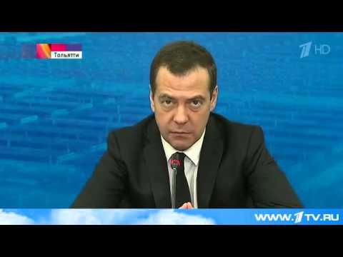 """Медведеву показали разработки """"АвтоВАЗа"""""""