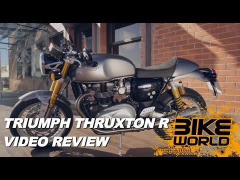 2016 Triumph Thruxton 1200 R in Shelby Township, Michigan - Video 1