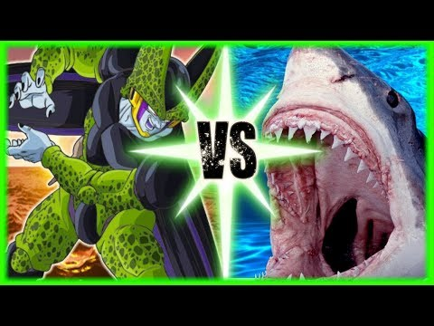 Perfect Cell Vs Megalodon