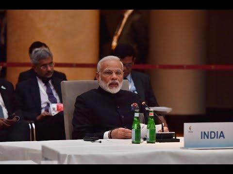 PM Modi attends informal BRICS leaders meeting in Hamburg, Germany