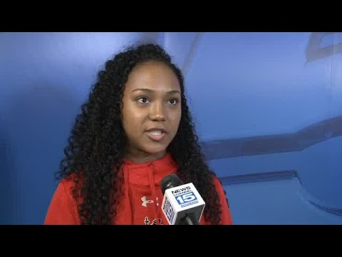 Bishop Luers Anaya Johnson and head coach Mark Pixley full interview on 10/10/17