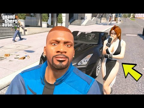 GTA 5 REAL LIFE MOD #281 MIA GOT A SPECIAL SURPRISE FROM FRANKLIN!
