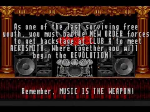 revolution x megadrive test