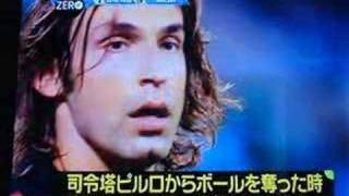 Funny Pirlo and Kaka in japan
