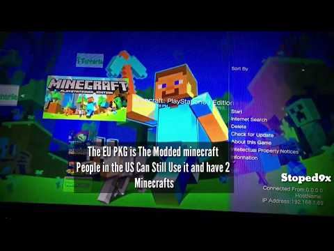 Minecraft PS3 [MCPS3] [CFW/OFW] All Skins & DLC @OBNinjaa - игровое
