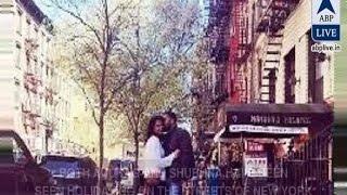 In Graphics Anurag Kashyap Kissing Girlfriend Shubhra Shetty In New York