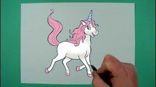 Zeichnen Fur Kinder Einhorn 免费在线视频最佳电影电视节目 Viveos Net