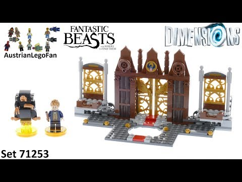 Vidéo LEGO Dimensions 71253 : Fantastic Beasts and Where to Find Them