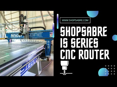 The IS Series Router by ShopSabre CNCvideo thumb