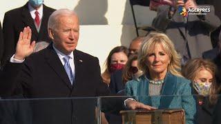 Ceremonie de învestitură în SUA: Joe Biden a depus jurământul de preşedinte