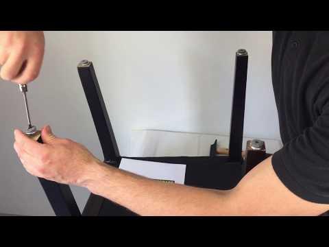 DIY Filzgleiter zum Schrauben montieren