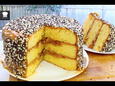 Video Basic Caramel Cake