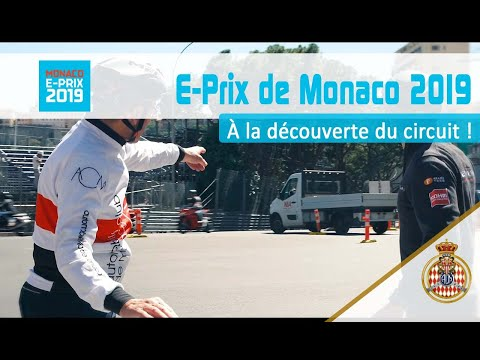 A tour around the Monaco E-Prix track