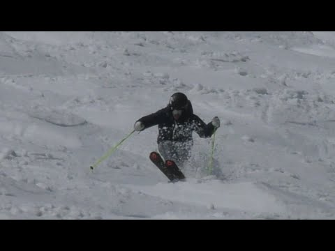 Reilly McGlashan Spring Mogul Skiing Niseko Japan 2016