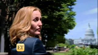 Секретные материалы, X-files - David Duchovny & Gillian Anderson on ET 1.7.16