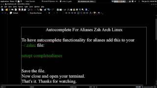 zsh arch linux - मुफ्त ऑनलाइन वीडियो