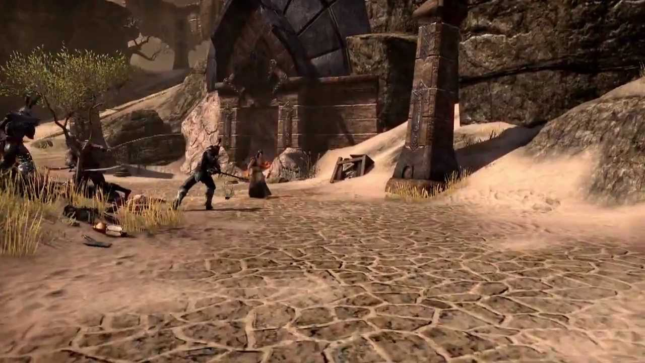 Elder Scrolls Online: видео - TESO: Gameplay Video (DEU)