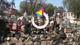 #00285 Meksika Meksicocity Mezarlık
