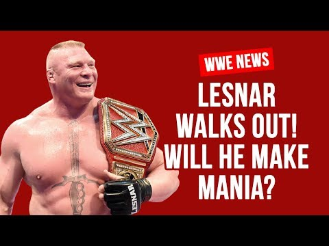 Brock Lesnar Quits WWE For UFC?