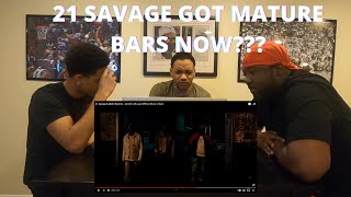 21 SAVAGE X METRO BOOMIN -GLOCK IN MY LAP [OFFICIAL VIDEO] (REACTION!!!)