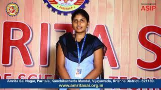 Special Programs for Overall Development | Amrita Sai