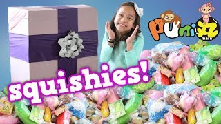 WORLD'S ULTIMATE SQUISHY SURPRISE PACKAGE! HAUL PUNI MARU SQUISHIES COLLECTION OPENING KIDS TOYS