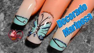 Decoracionde Uñas Mariposa Free Video Search Site Findclip