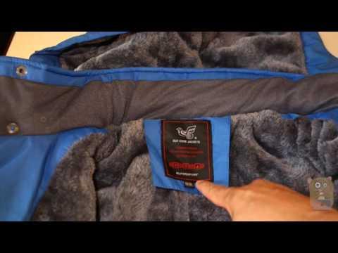 Lega Men's Outdoor Waterproof Fleece Winter Ski Jacket Review