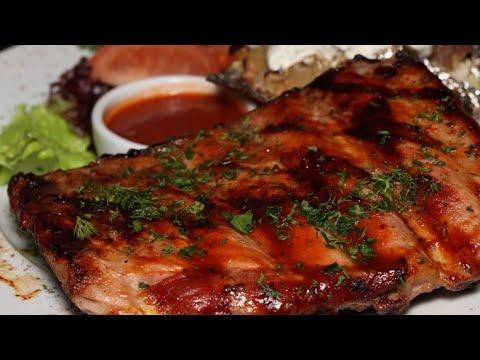 Готовим вкусно# свиные ребра в медово - горчичном соусе
